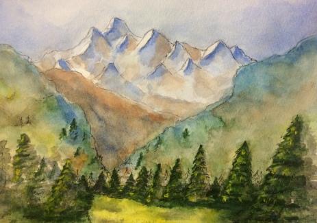 Mountain Skyline