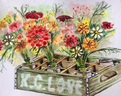 City market flowers